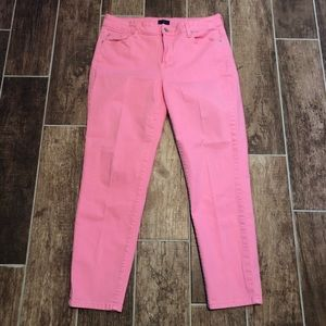 💖 NYDJ 💖 JEANS Women's 12 Ankle Pink